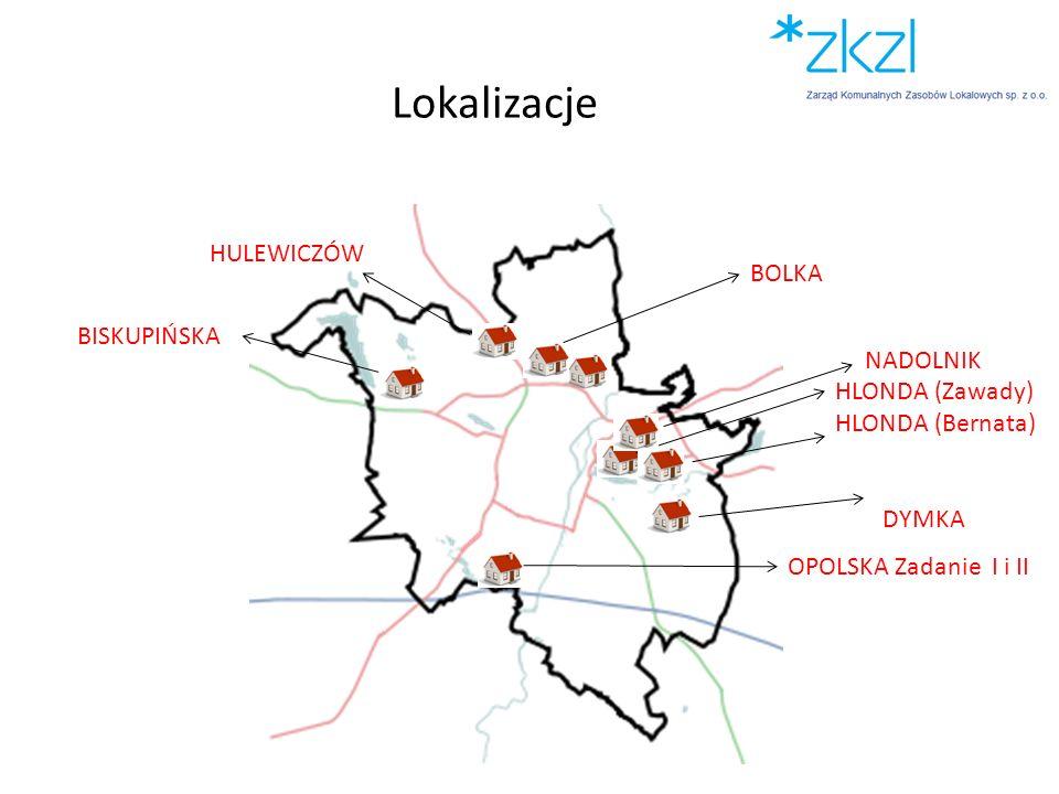 Lokalizacje HULEWICZÓW BOLKA BISKUPIŃSKA NADOLNIK
