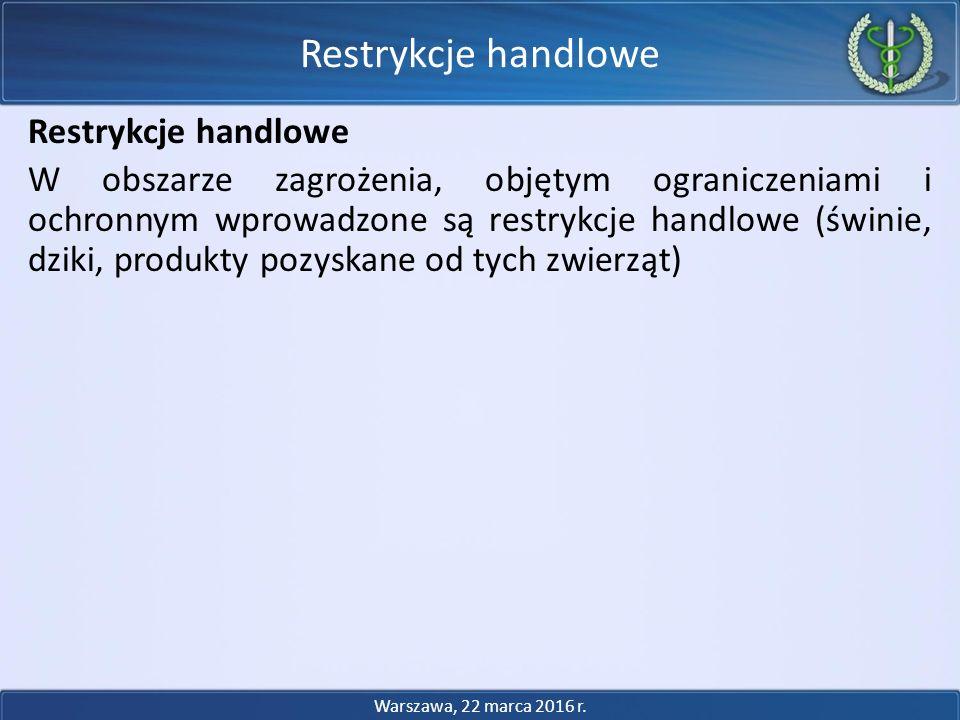 Restrykcje handlowe Restrykcje handlowe