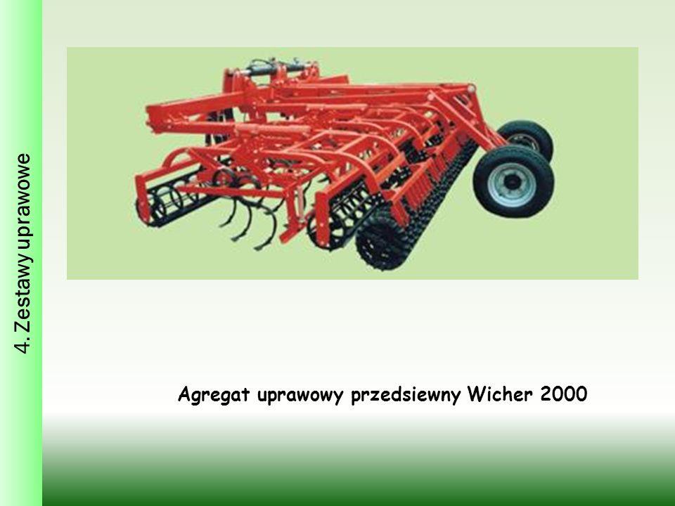 Agregat uprawowy przedsiewny Wicher 2000