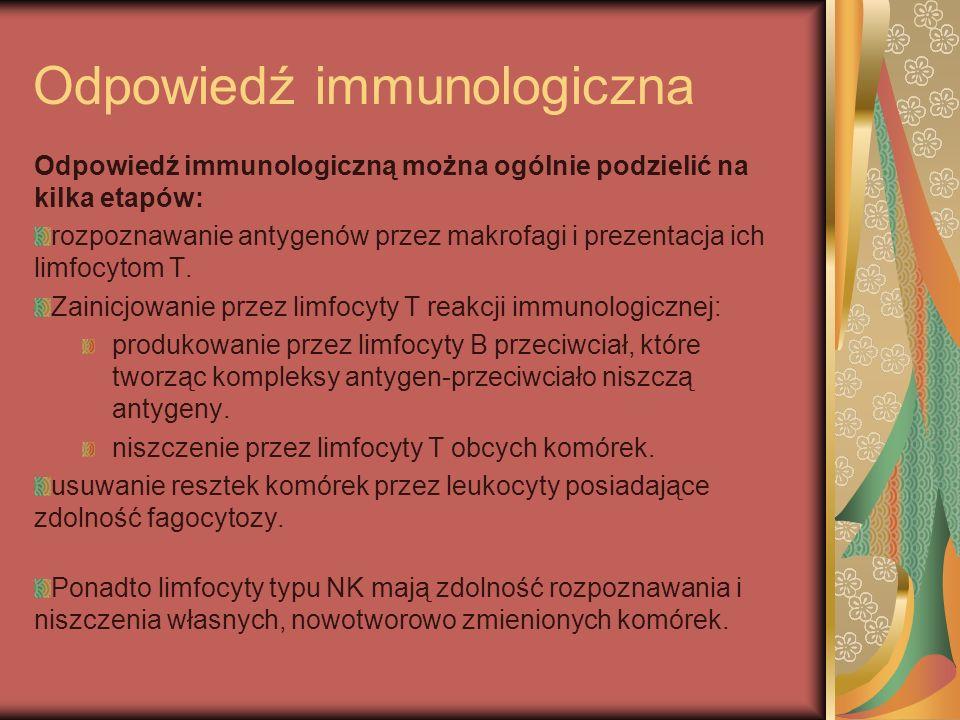 Odpowiedź immunologiczna
