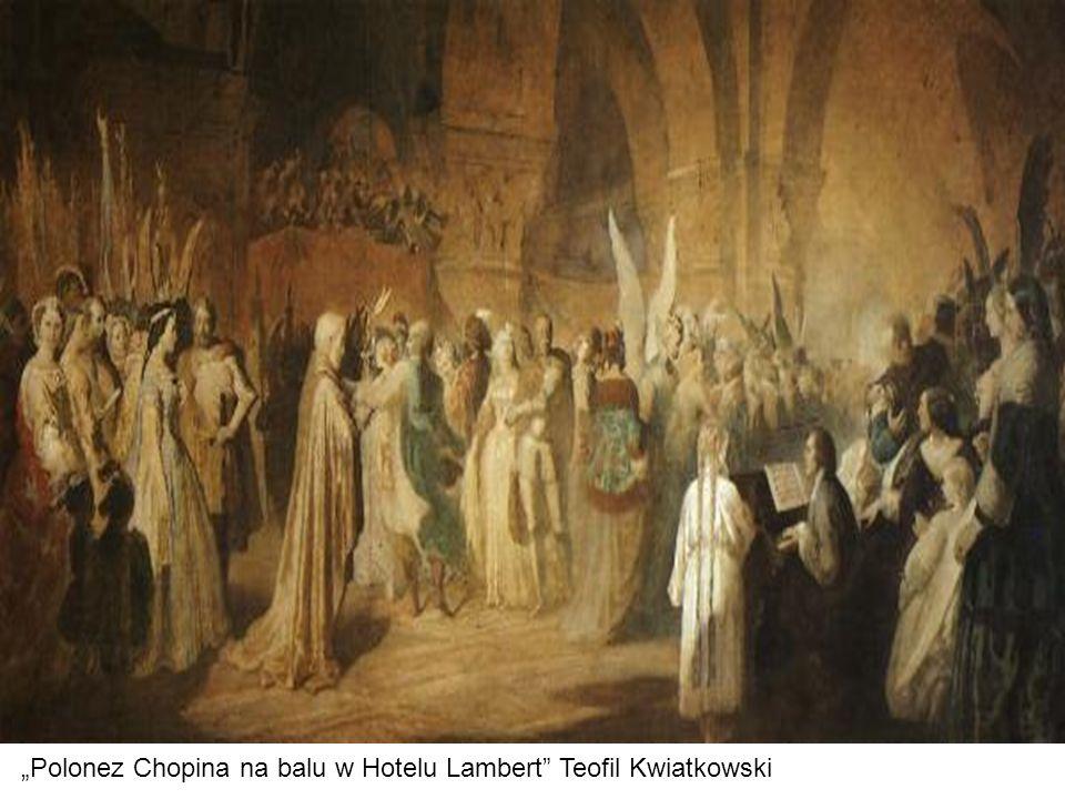 """Polonez Chopina na balu w Hotelu Lambert Teofil Kwiatkowski"