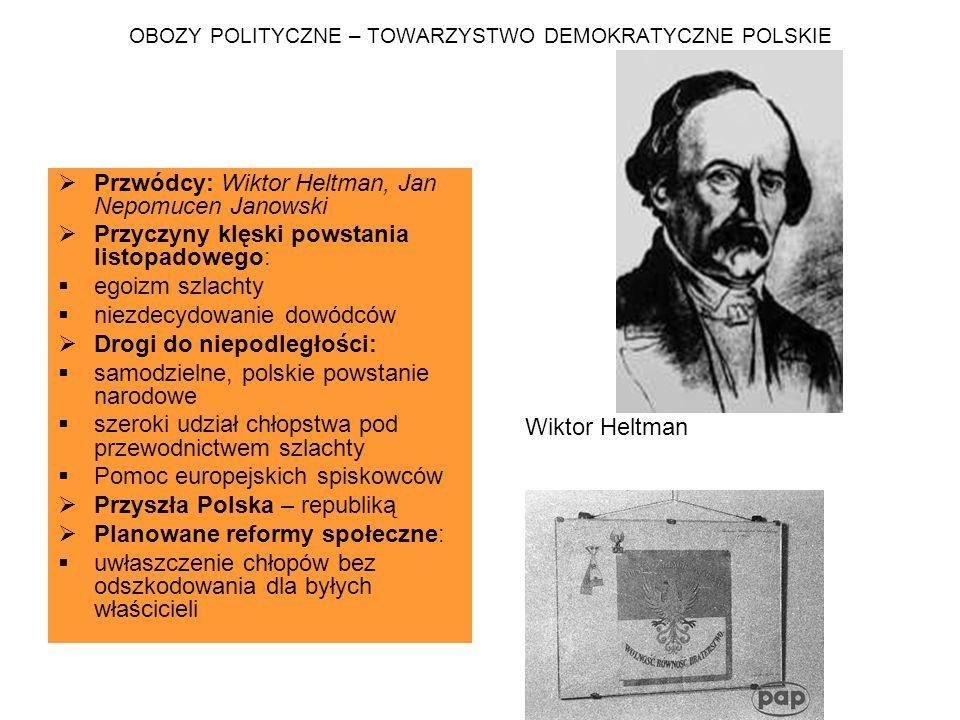 OBOZY POLITYCZNE – TOWARZYSTWO DEMOKRATYCZNE POLSKIE