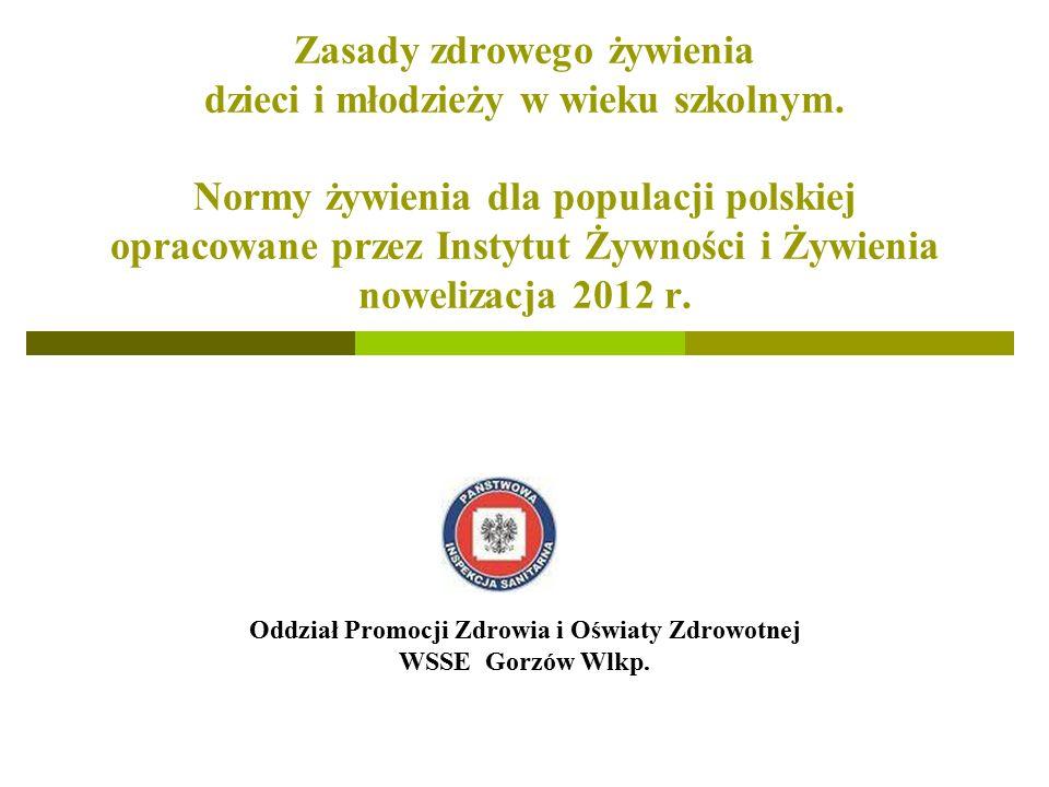 Oddział Promocji Zdrowia i Oświaty Zdrowotnej WSSE Gorzów Wlkp.