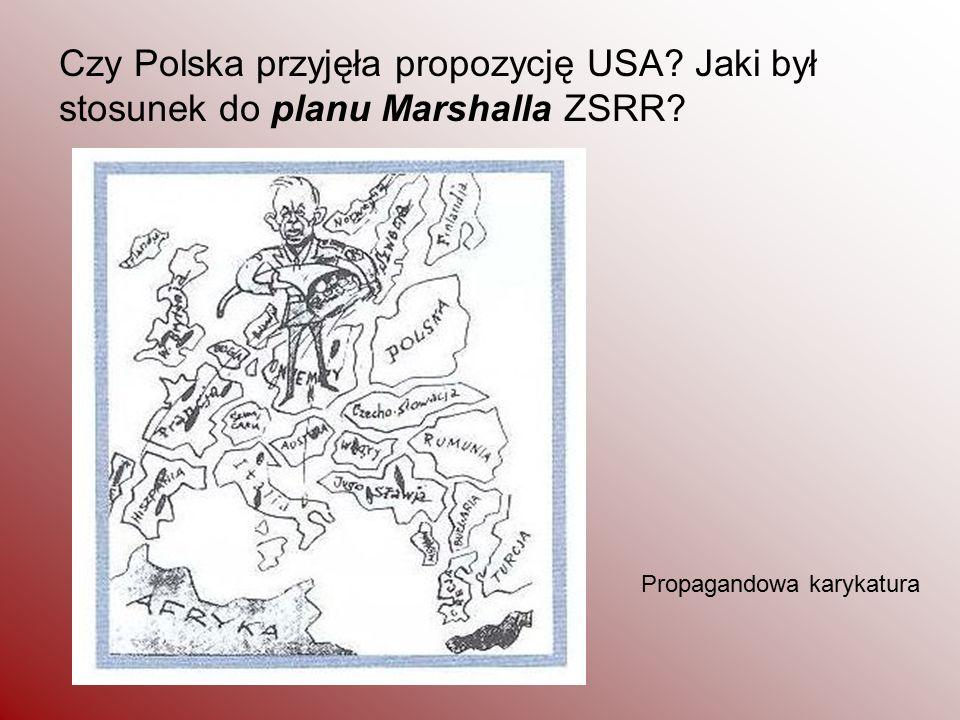 Czy Polska przyjęła propozycję USA