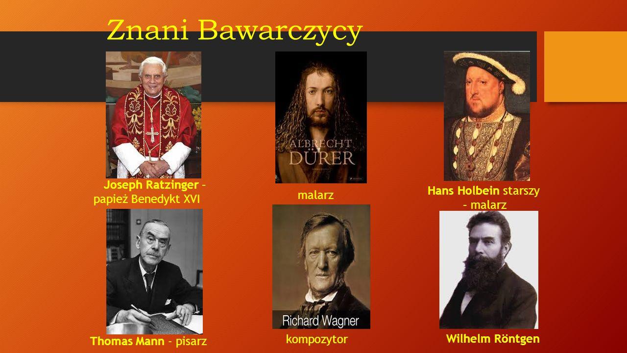 Znani Bawarczycy Joseph Ratzinger – papież Benedykt XVI