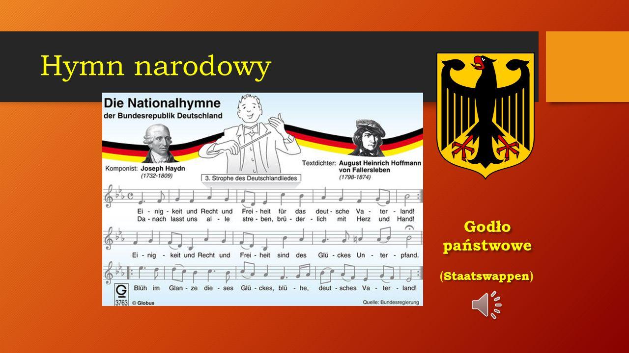 Hymn narodowy Godło państwowe (Staatswappen)