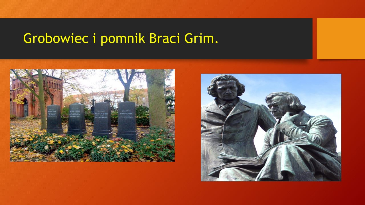 Grobowiec i pomnik Braci Grim.