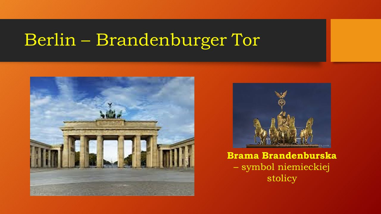 Berlin – Brandenburger Tor