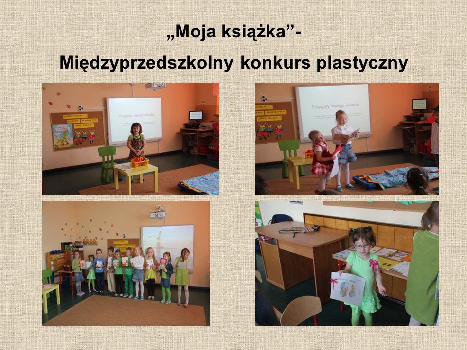 """""""Moja książka - Międzyprzedszkolny konkurs plastyczny"""