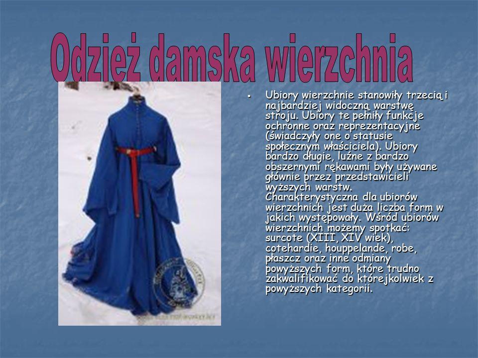 Odzież damska wierzchnia