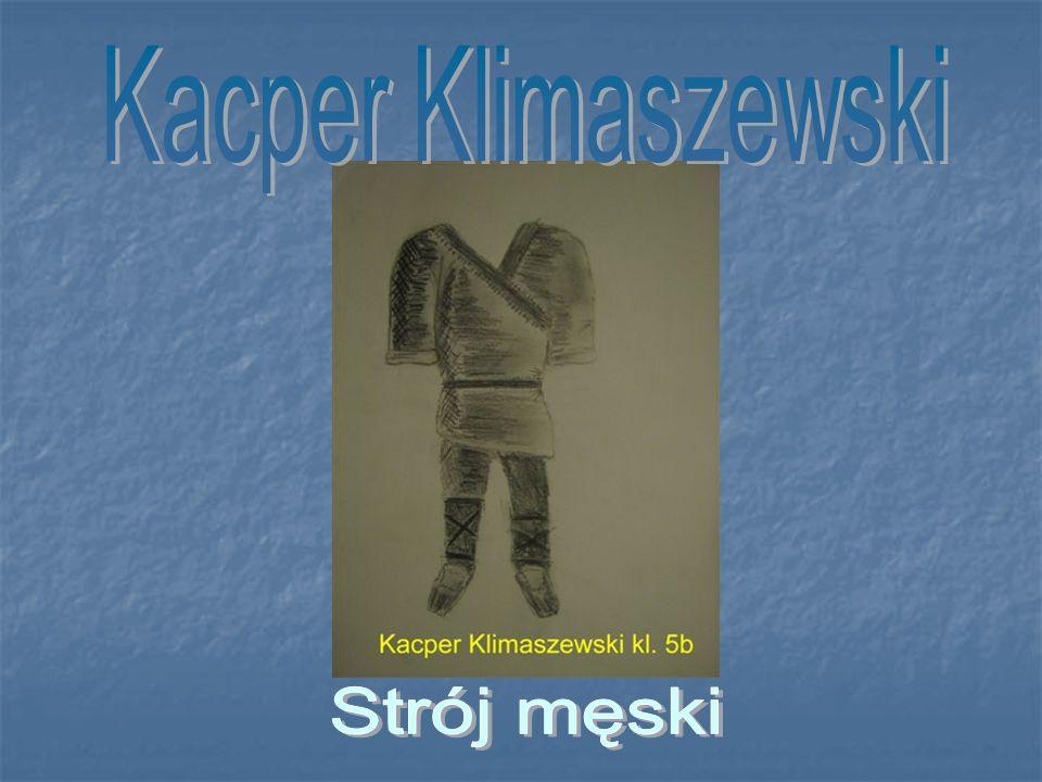 Kacper Klimaszewski Strój męski