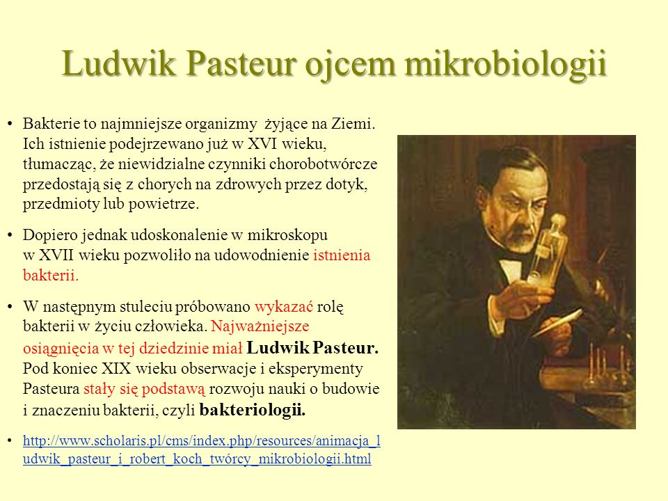 Ludwik Pasteur ojcem mikrobiologii