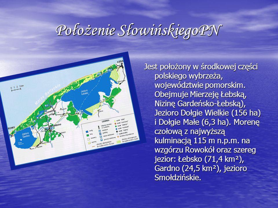 Położenie SłowińskiegoPN