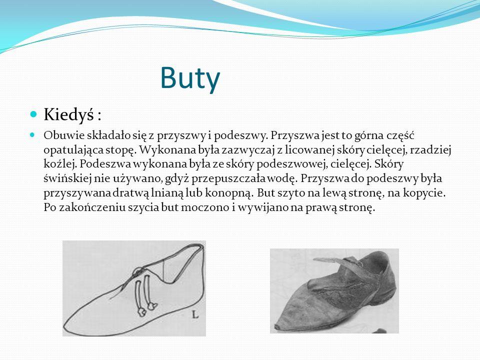 Buty Kiedyś :