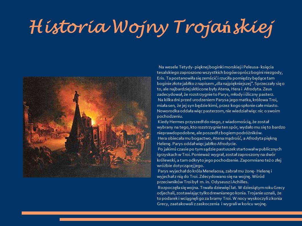 Historia Wojny Trojańskiej