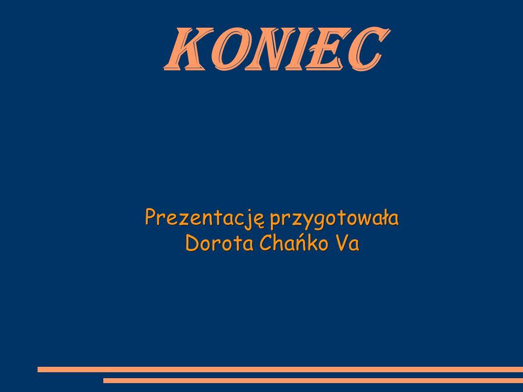 Prezentację przygotowała Dorota Chańko Va