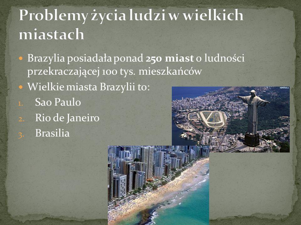 Problemy życia ludzi w wielkich miastach