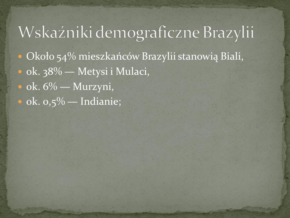 Wskaźniki demograficzne Brazylii