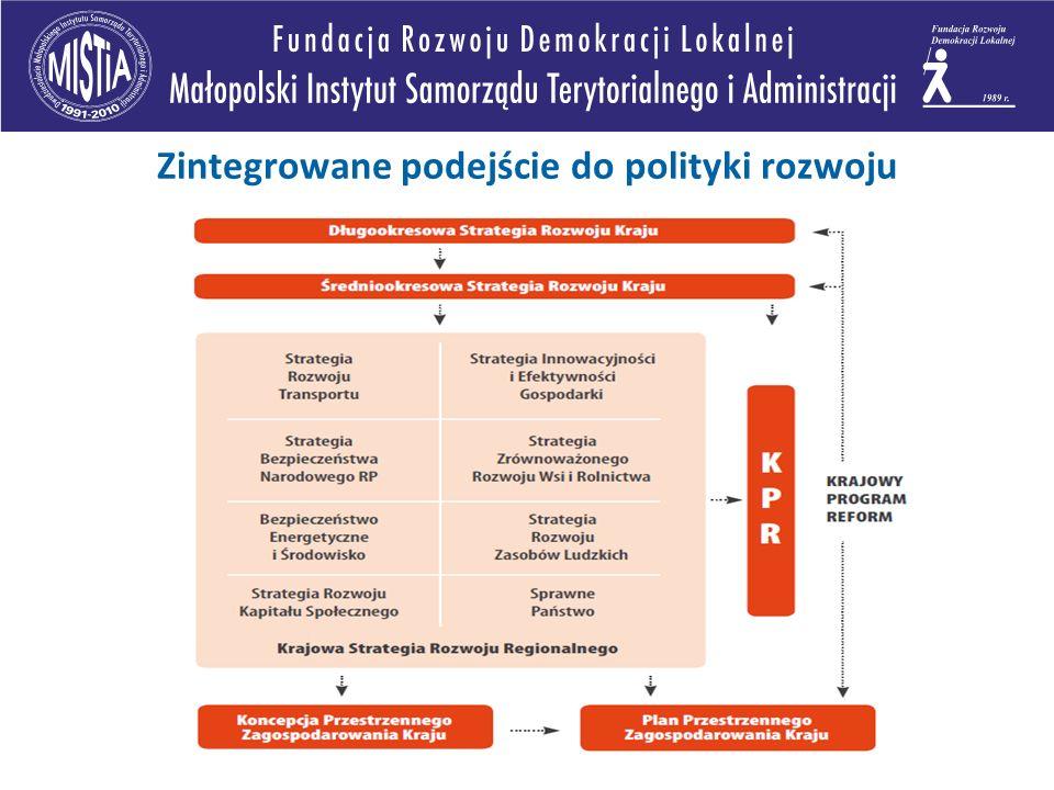 Zintegrowane podejście do polityki rozwoju