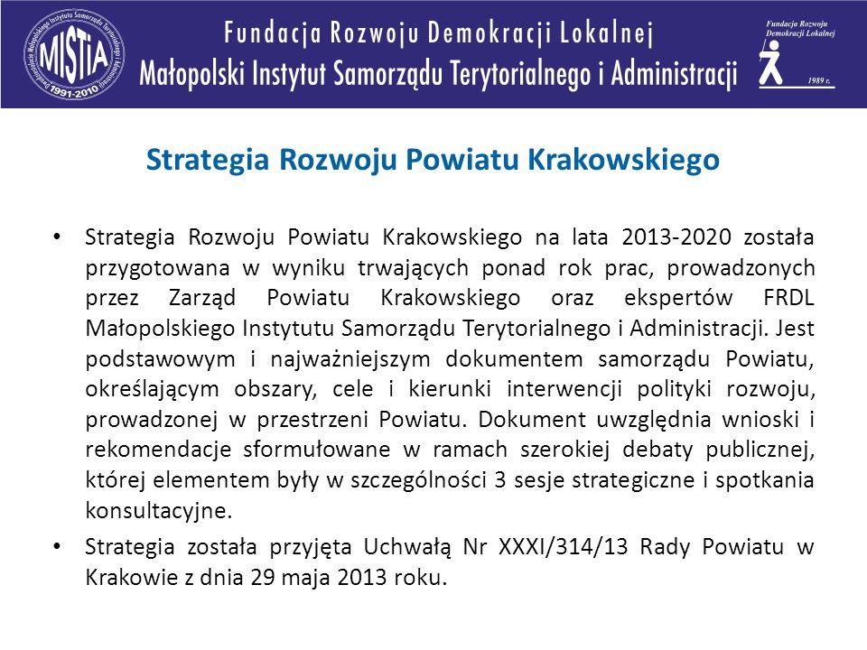 Strategia Rozwoju Powiatu Krakowskiego