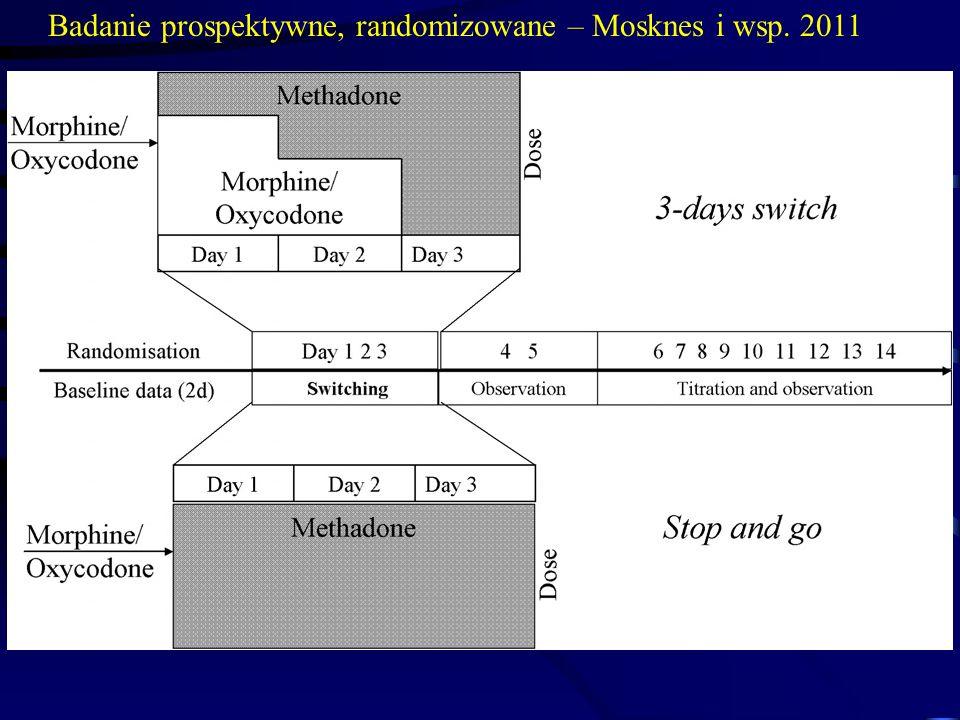 Badanie prospektywne, randomizowane – Mosknes i wsp. 2011