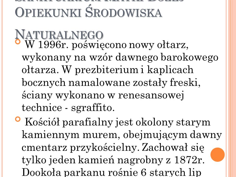 Mikołów-Bujaków - Sanktuarium Matki Bożej Opiekunki Środowiska Naturalnego