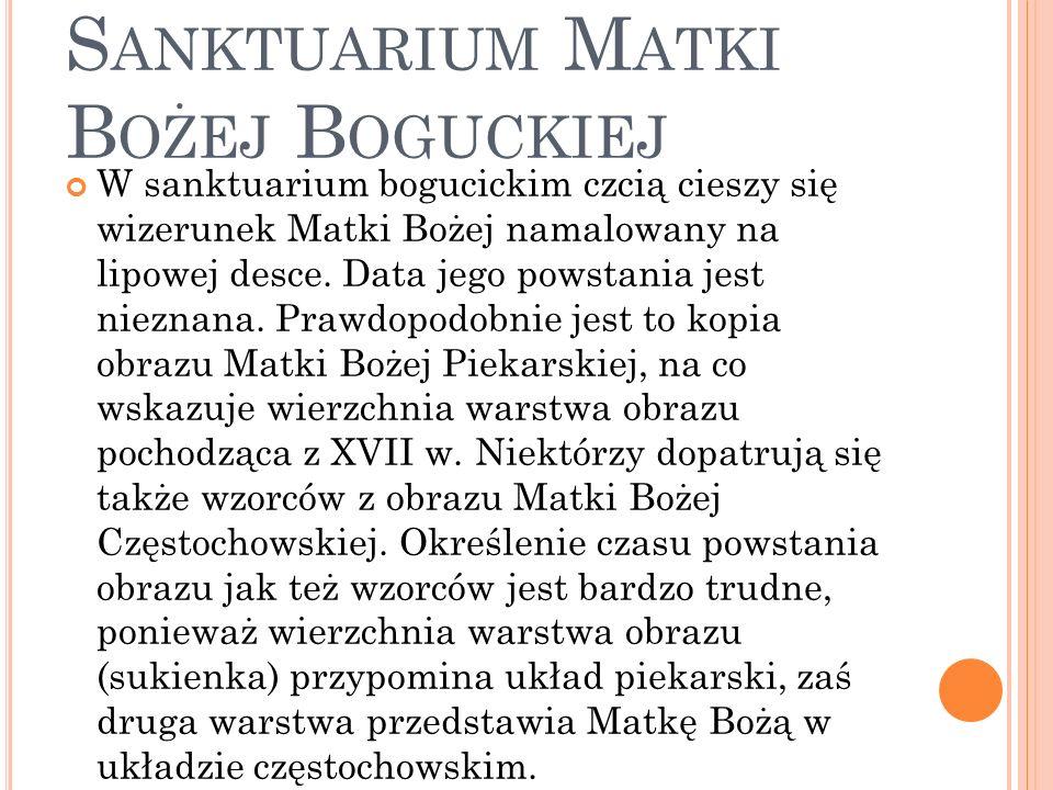 Katowice - Bogucice - Sanktuarium Matki Bożej Boguckiej