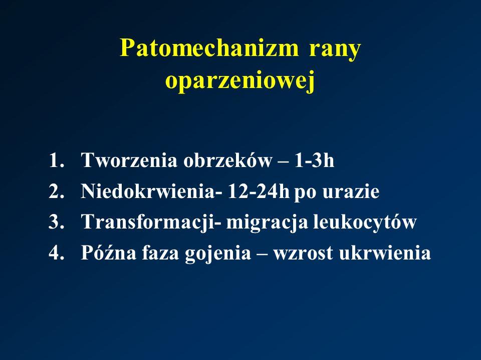 Patomechanizm rany oparzeniowej