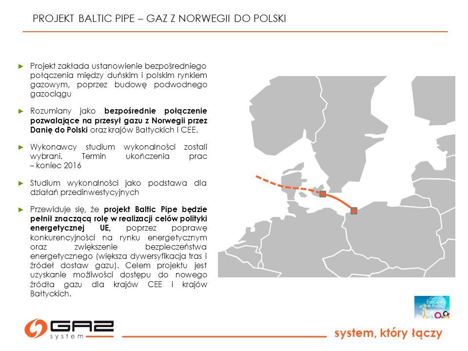 PROJEKT BALTIC PIPE – GAZ Z NORWEGII DO POLSKI