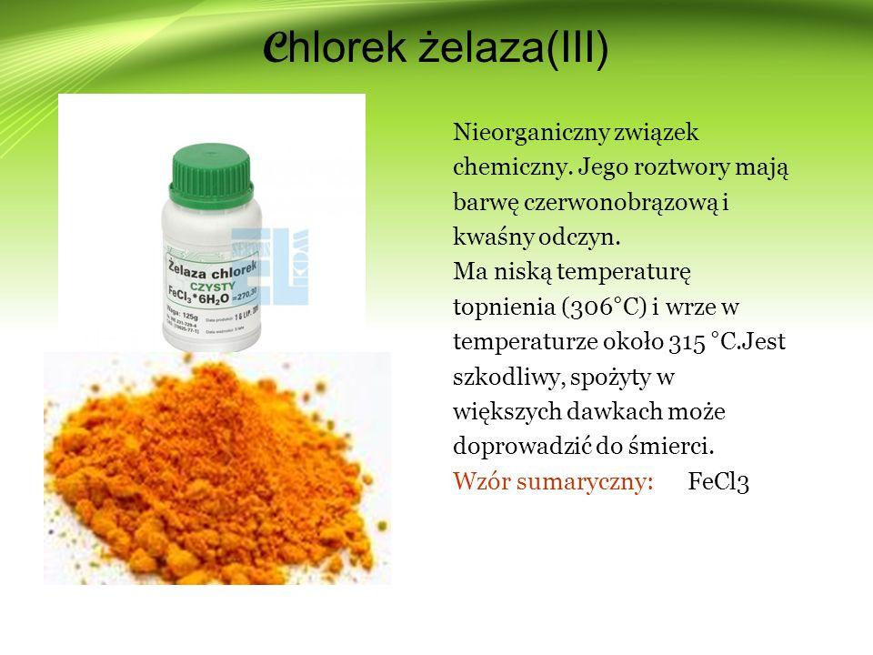 Chlorek żelaza(III)