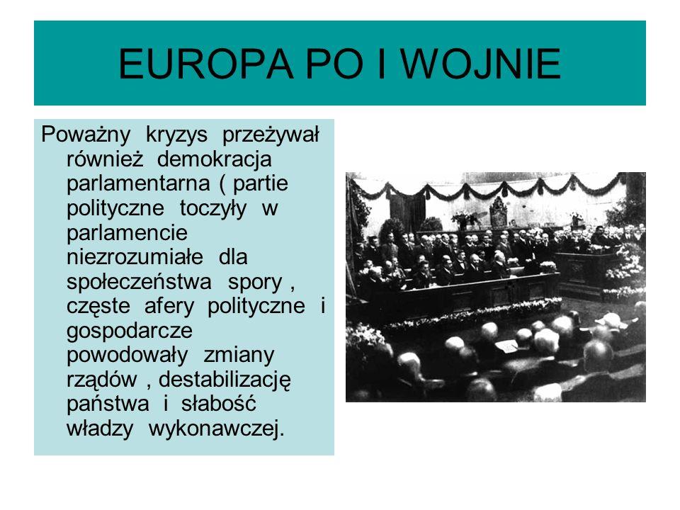 EUROPA PO I WOJNIE