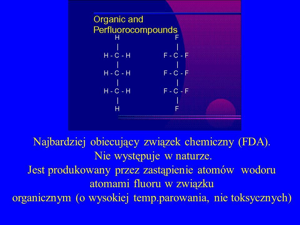 Najbardziej obiecujący związek chemiczny (FDA).