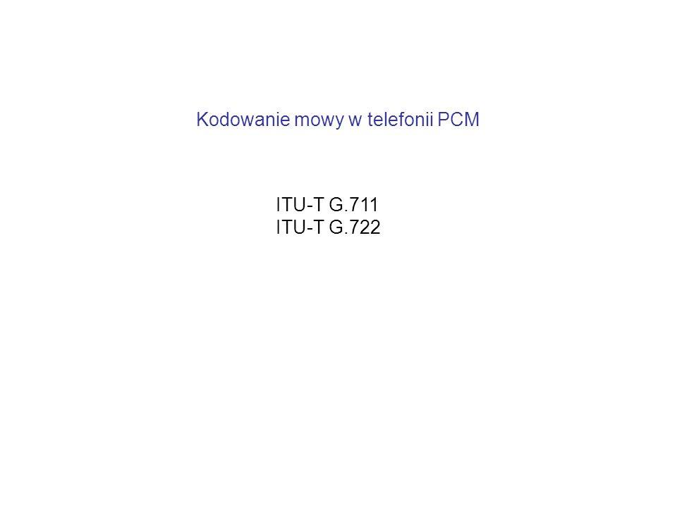 Kodowanie mowy w telefonii PCM