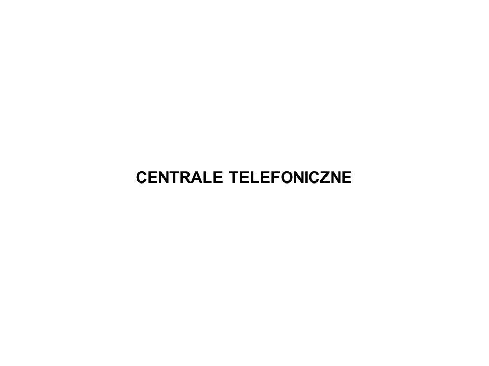 CENTRALE TELEFONICZNE