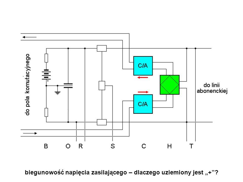 """biegunowość napięcia zasilającego – dlaczego uziemiony jest """"+"""