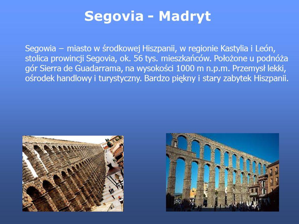 Segovia - Madryt