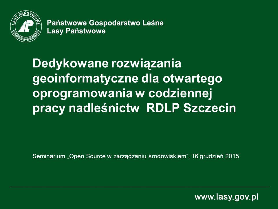 """Seminarium """"Open Source w zarządzaniu środowiskiem , 16 grudzień 2015"""