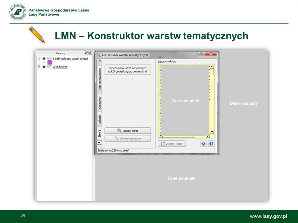 LMN – Konstruktor warstw tematycznych