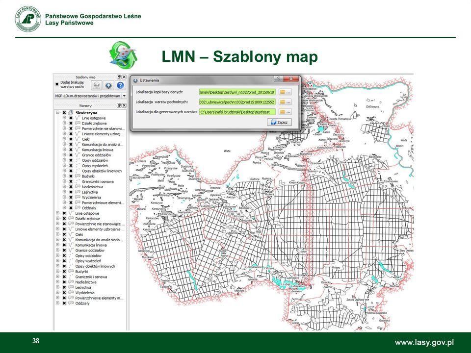 LMN – Szablony map