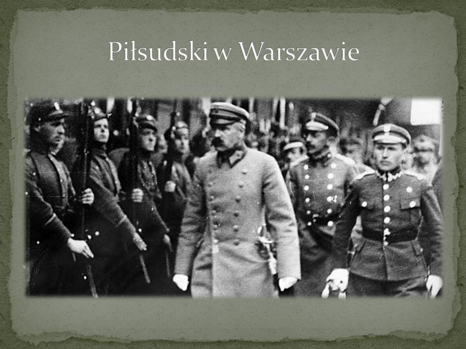 Piłsudski w Warszawie