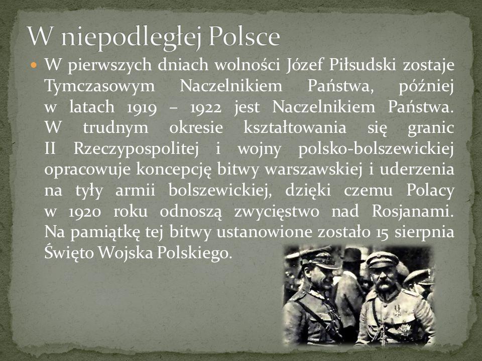 W niepodległej Polsce