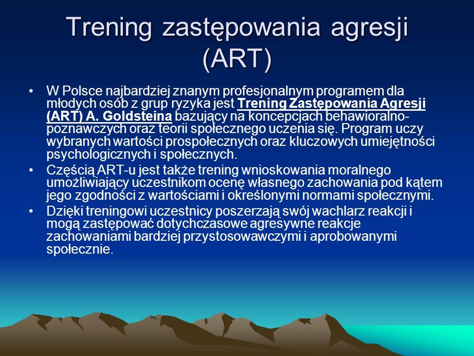 Trening zastępowania agresji (ART)