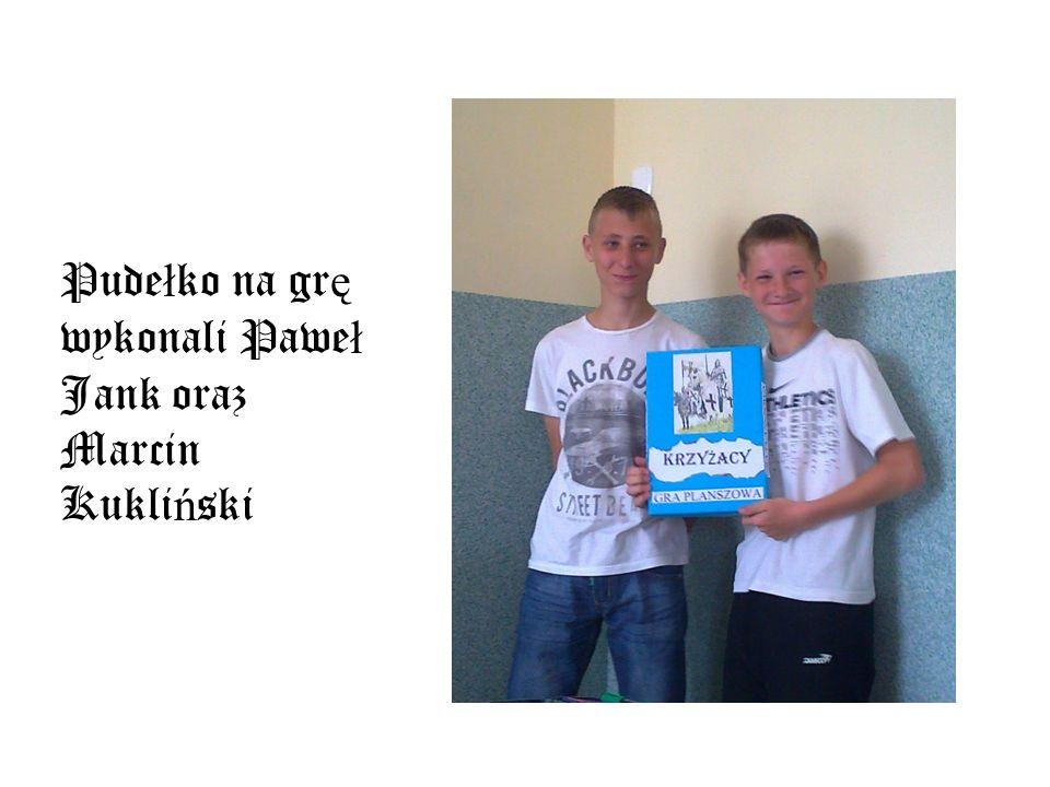 Pudełko na grę wykonali Paweł Jank oraz Marcin Kukliński