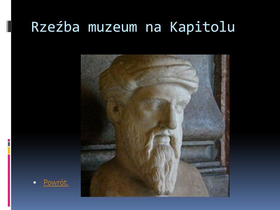Rzeźba muzeum na Kapitolu