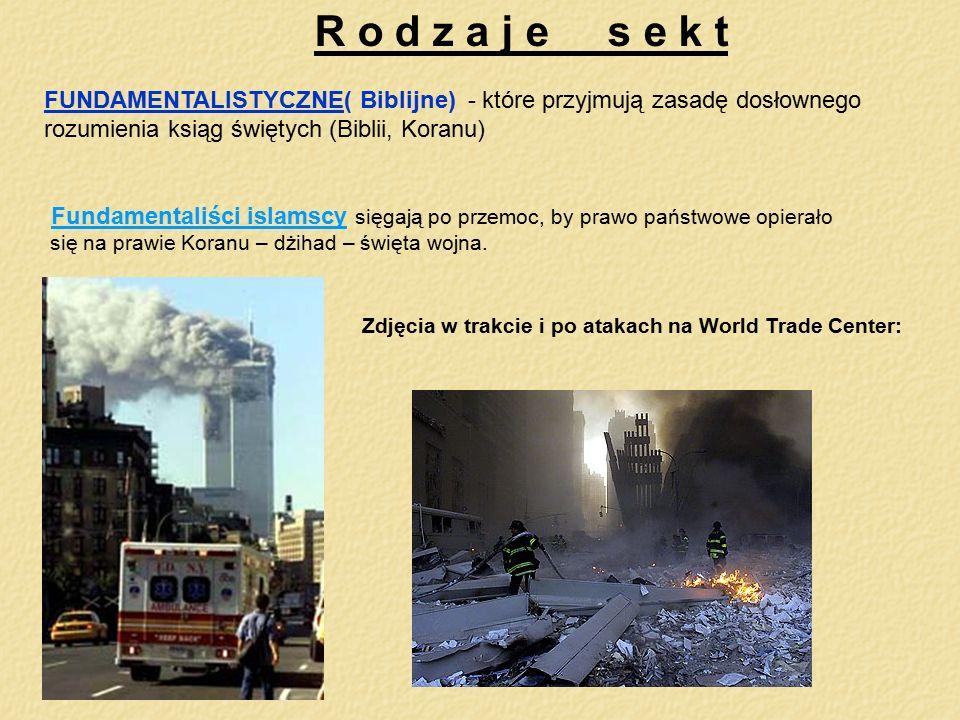 Zdjęcia w trakcie i po atakach na World Trade Center: