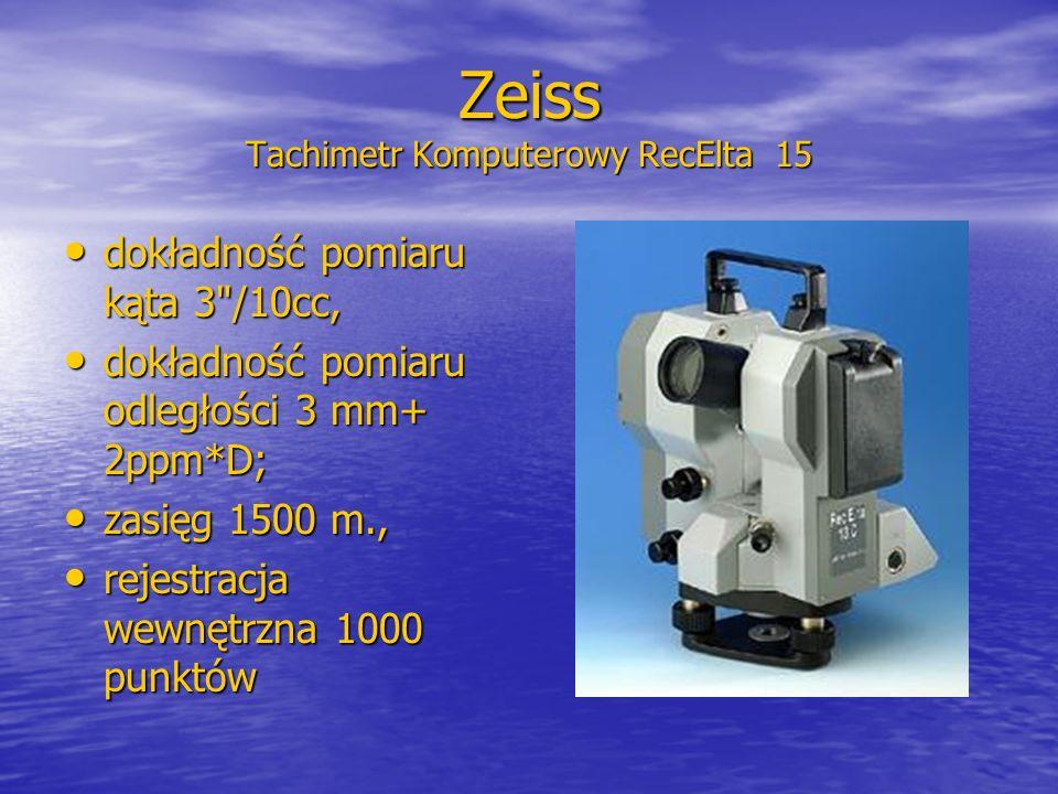 Zeiss Tachimetr Komputerowy RecElta 15