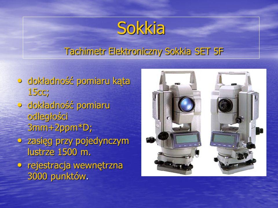Sokkia Tachimetr Elektroniczny Sokkia SET 5F
