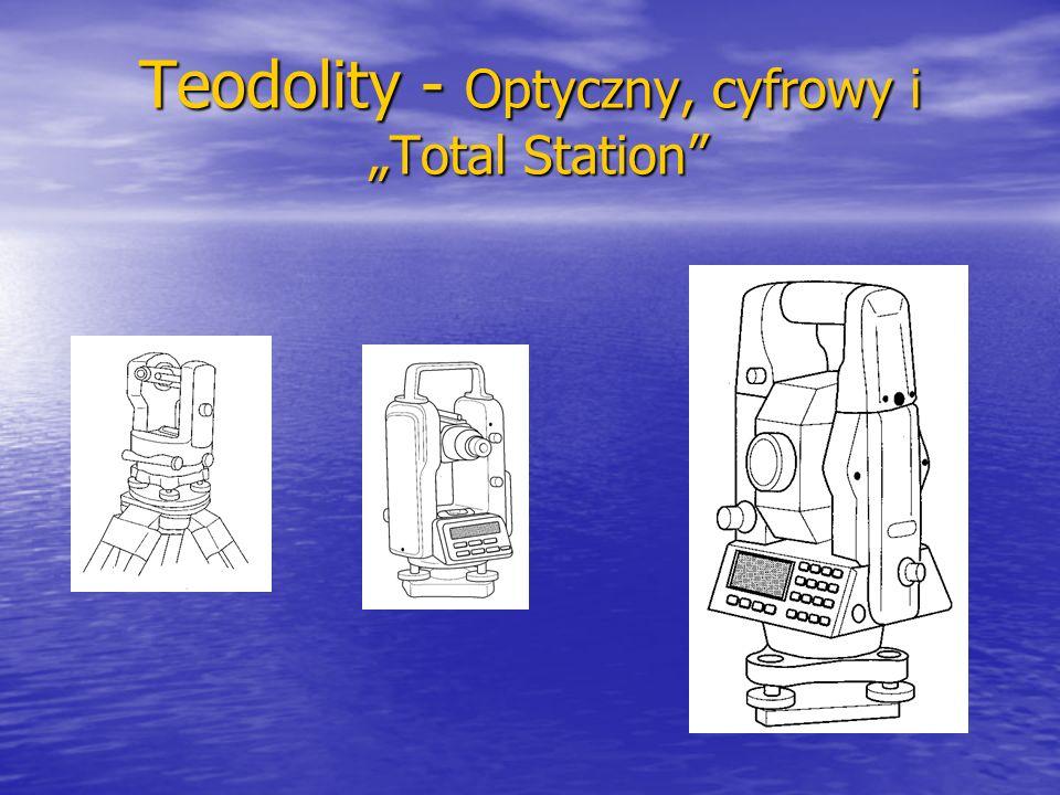 """Teodolity - Optyczny, cyfrowy i """"Total Station"""