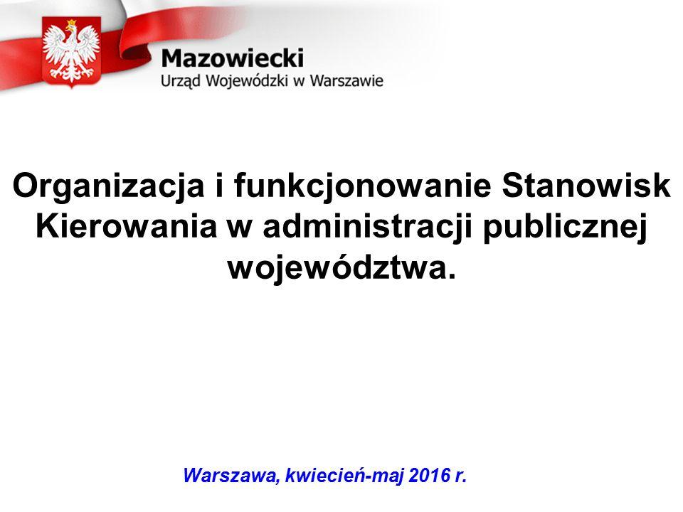 Warszawa, kwiecień-maj 2016 r.