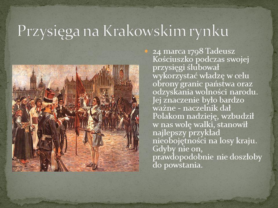 Przysięga na Krakowskim rynku